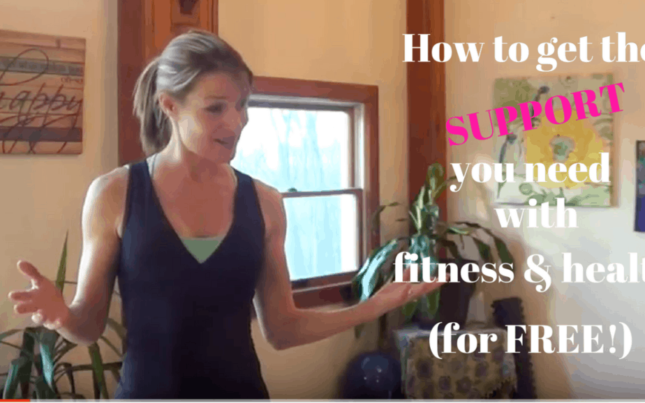 How to get the SUPPORT you need when it comes to fitness & health (for FREE!)