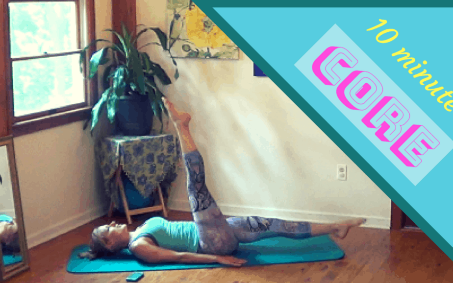 CORE Exercises for Women – 10 minute workout #1