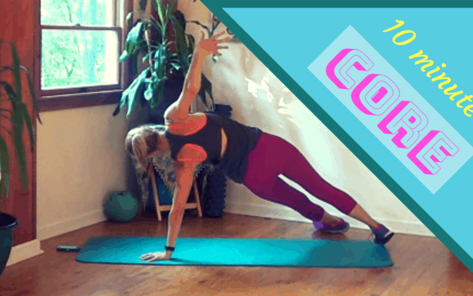 Core Exercises for Women – 10 minute workout #3