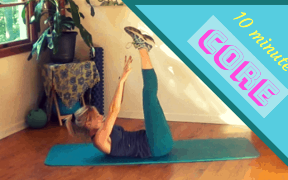 Core Exercises for Women – 10 minute workout #2