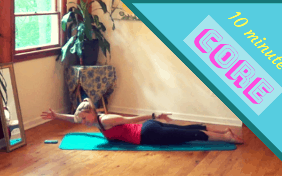 Core Exercises for Women – 10 minute workout #4