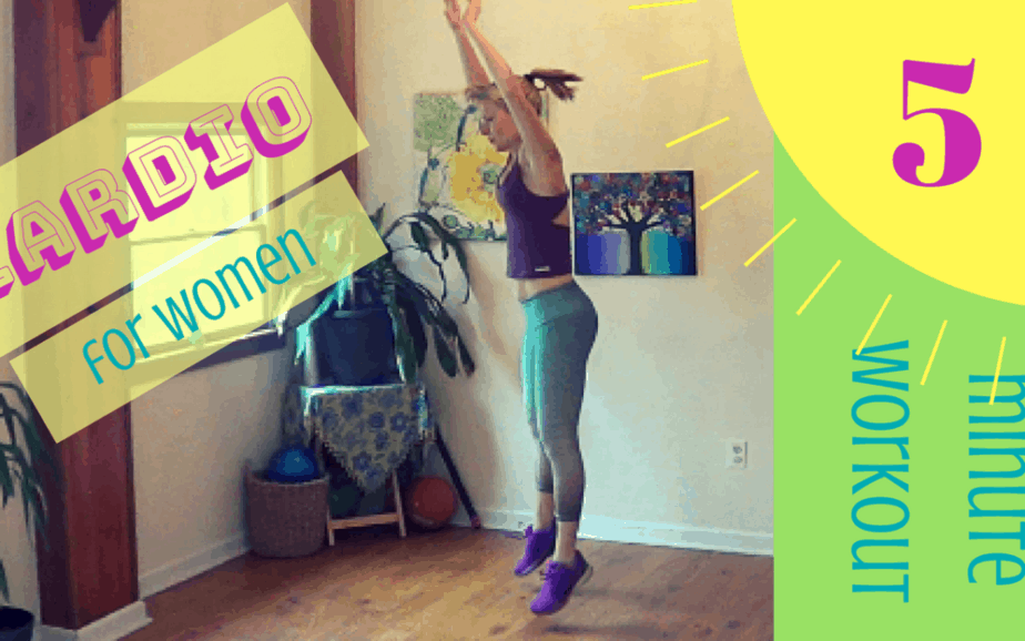 Cardio for Women – 5 minute workout #6