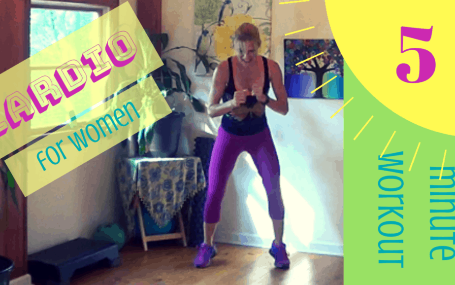 Cardio for Women – 5 minute workout #8