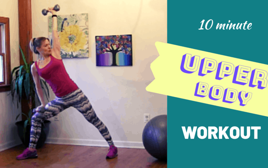 Upper Body Workout for Women – 10 minute workout #3