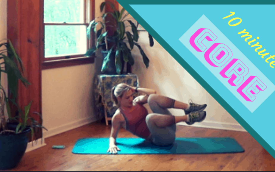 Core Exercises for Women – 10 minute workout #5