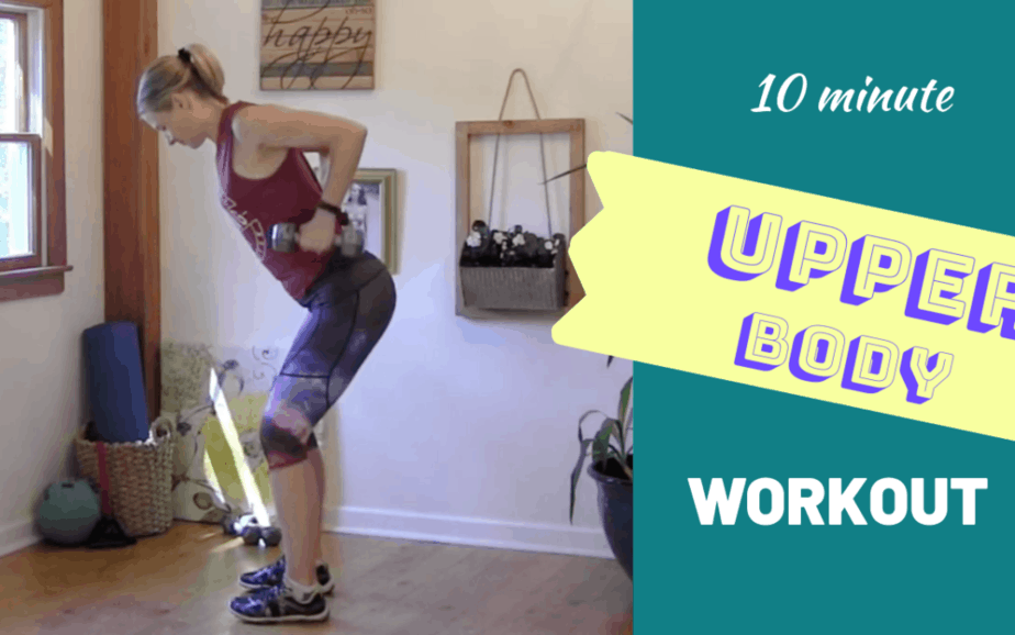 Upper Body Workout for Women – 10 minute workout #4