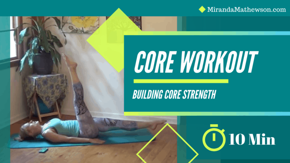 10 Minute Core Workout Video
