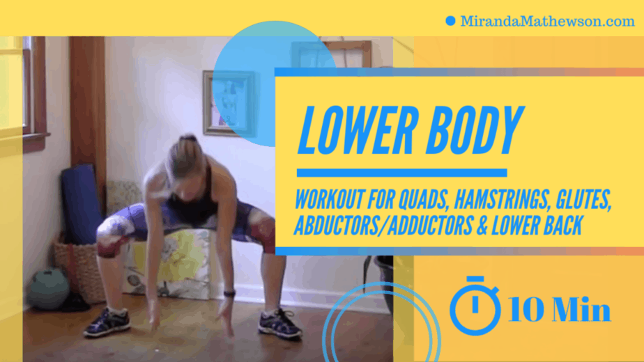 10 minute Lower Body Workout