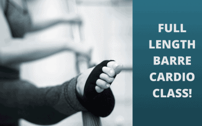 FULL LENGTH CLASS – Barre Cardio – 60 Minute Workout