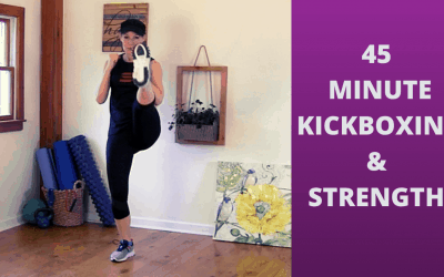 Cardio Kickboxing HIIT Workout – FULL LENGTH FITNESS CLASS