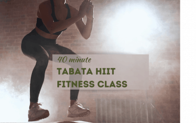Tabata Workout with Strength Training – FITNESS CLASS
