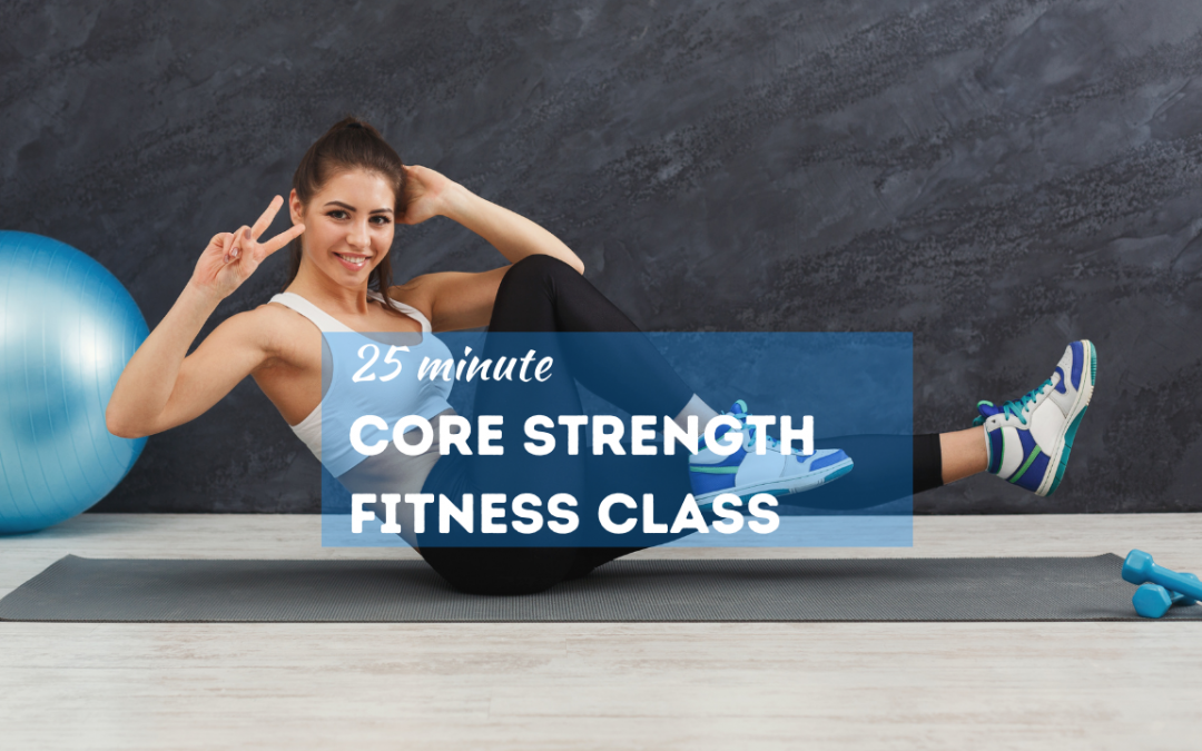 Core Workout for Women – FITNESS CLASS